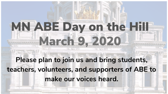 MN ABE Day on the Hill 2020